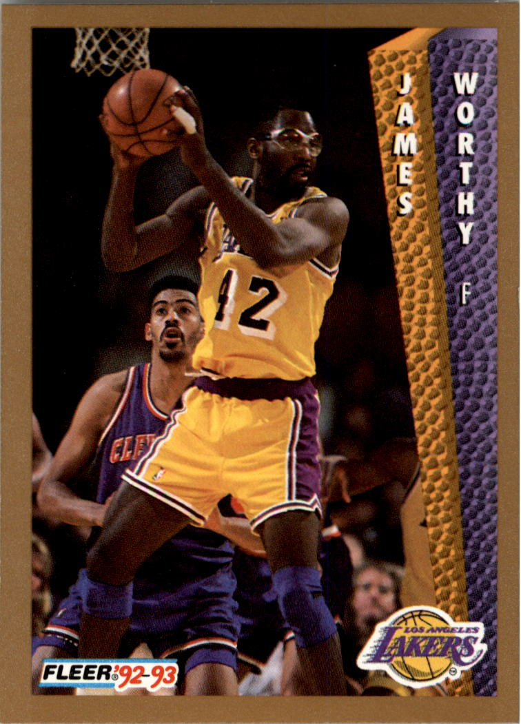 1992-93 Fleer #114 James Worthy
