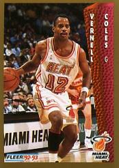 1992-93 Fleer #116 Bimbo Coles