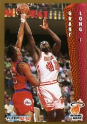 1992-93 Fleer #118 Grant Long