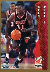 1992-93 Fleer #120 Glen Rice