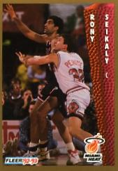 1992-93 Fleer #121 Rony Seikaly