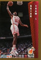 1992-93 Fleer #122 Brian Shaw