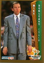 1992-93 Fleer #125 Mike Dunleavy CO