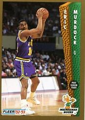 1992-93 Fleer #128 Eric Murdock
