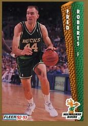 1992-93 Fleer #129 Fred Roberts