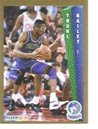 1992-93 Fleer #131 Thurl Bailey