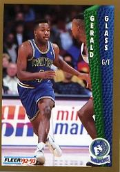 1992-93 Fleer #133 Gerald Glass
