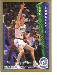 1992-93 Fleer #134 Luc Longley