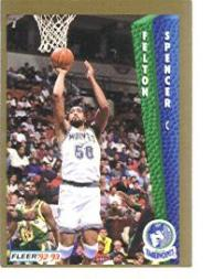 1992-93 Fleer #138 Felton Spencer