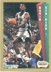 1992-93 Fleer #207 David Robinson