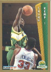1992-93 Fleer #213 Shawn Kemp