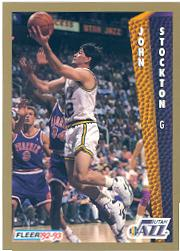 1992-93 Fleer #227 John Stockton