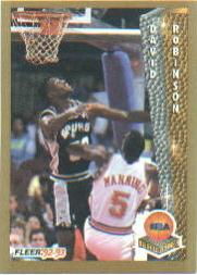 1992-93 Fleer #248 David Robinson POY