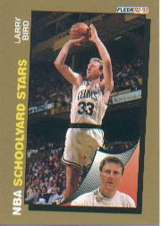 1992-93 Fleer #256 Larry Bird SY front image