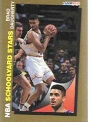 1992-93 Fleer #257 Brad Daugherty SY