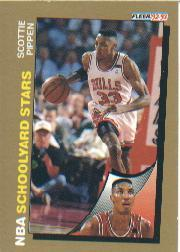 1992-93 Fleer #260 Scottie Pippen SY