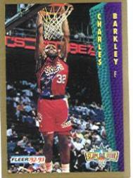 1992-93 Fleer #265 Charles Barkley SD