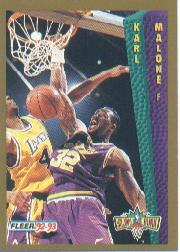1992-93 Fleer #268 Karl Malone SD