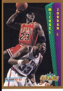 1992-93 Fleer #273 Michael Jordan SD
