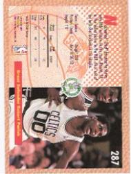 1992-93 Fleer #287 Robert Parish SD back image