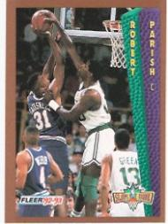 1992-93 Fleer #287 Robert Parish SD