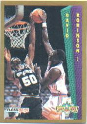 1992-93 Fleer #288 David Robinson SD