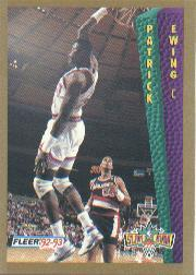 1992-93 Fleer #291 Patrick Ewing SD