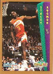 1992-93 Fleer #295 Stacey Augmon SD