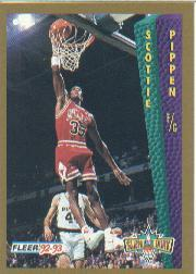 1992-93 Fleer #299 Scottie Pippen SD