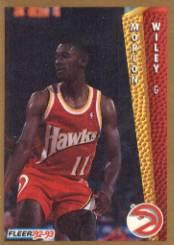 1992-93 Fleer #304 Morlon Wiley
