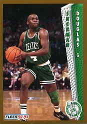 1992-93 Fleer #305 Sherman Douglas