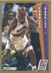1992-93 Fleer #411 Charles Barkley