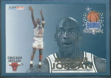 1992-93 Fleer All-Stars #6 Michael Jordan !