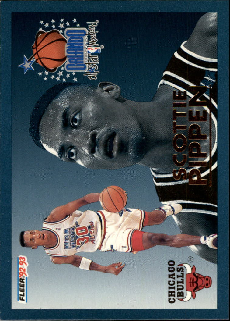 1992-93 Fleer All-Stars #8 Scottie Pippen
