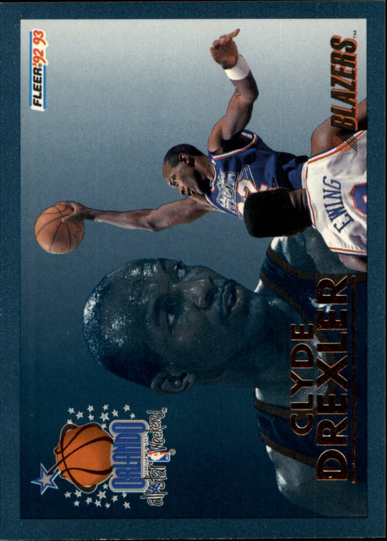 1992-93 Fleer All-Stars #13 Clyde Drexler