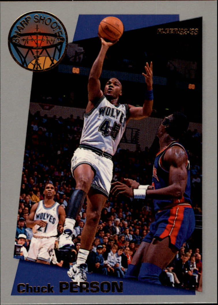 1992-93 Fleer Sharpshooters #10 Chuck Person
