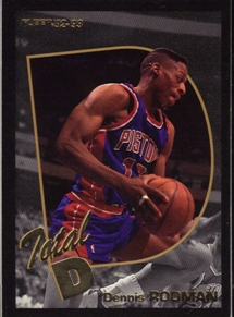 1992-93 Fleer Total D #2 Dennis Rodman