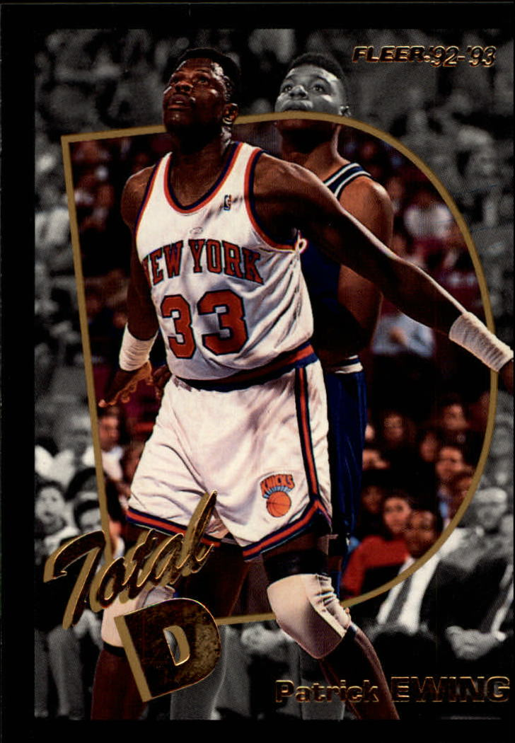 1992-93 Fleer Total D #7 Patrick Ewing