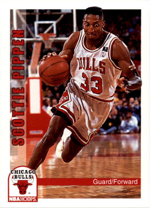 1992-93 Hoops #34 Scottie Pippen