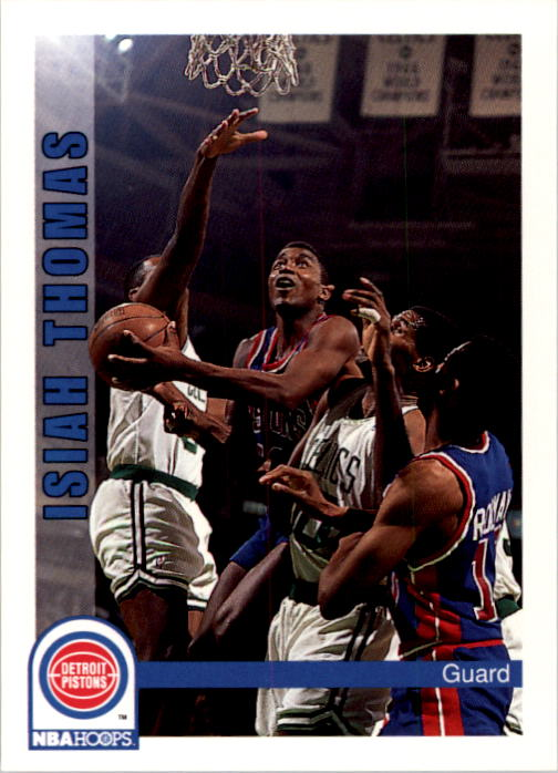1992-93 Hoops #68 Isiah Thomas
