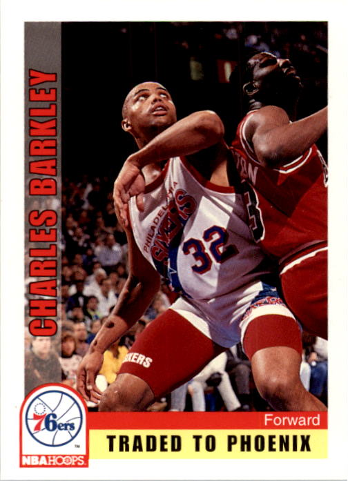 1992-93 Hoops #170 Charles Barkley