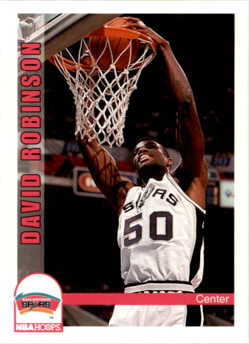 1992-93 Hoops #209 David Robinson