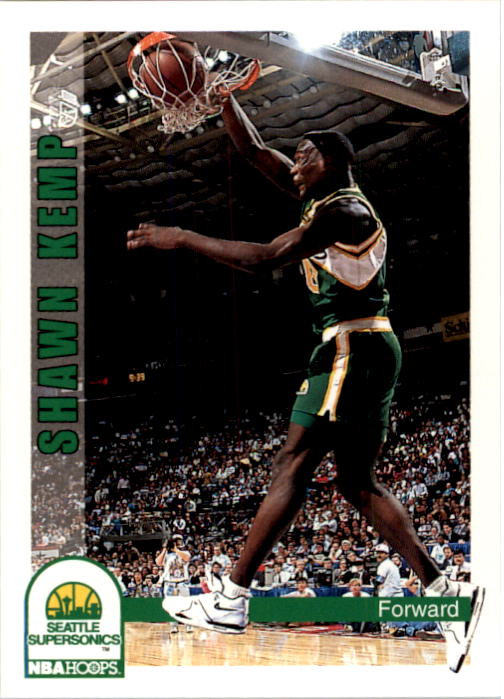 1992-93 Hoops #216 Shawn Kemp