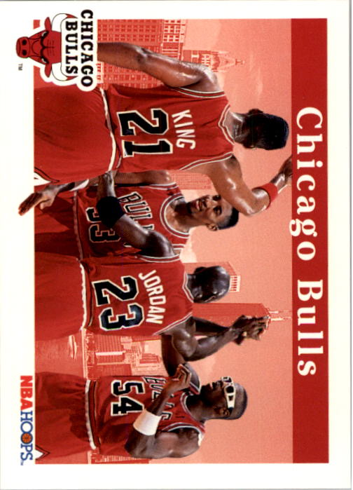 1992-93 Hoops #269 Chicago Bulls