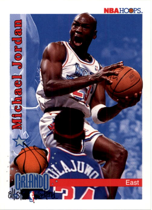 1992-93 Hoops #298 Michael Jordan AS