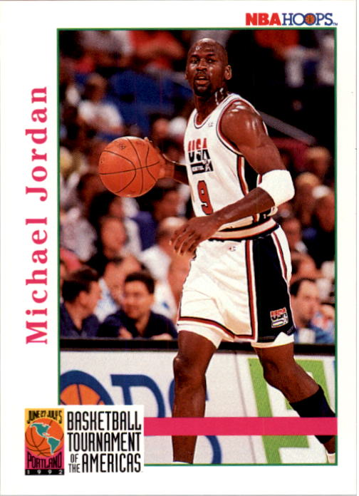 1992-93 Hoops #341 Michael Jordan USA