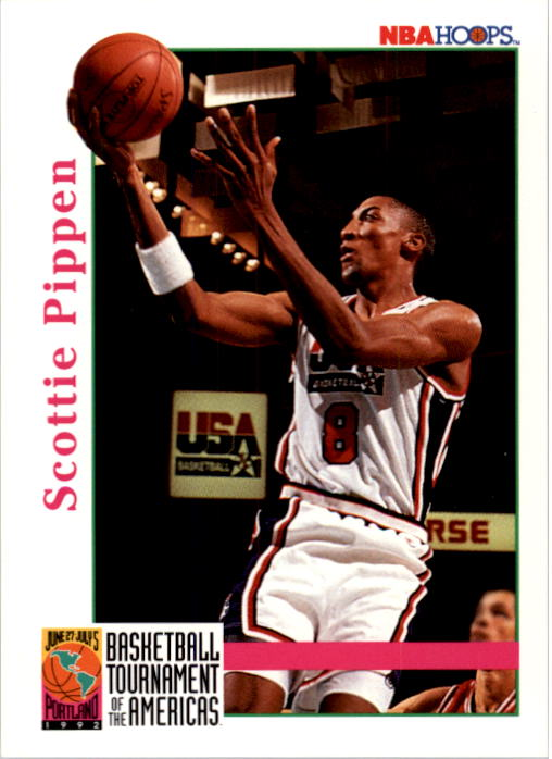 1992-93 Hoops #345 Scottie Pippen USA