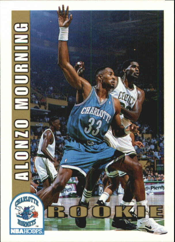 1992-93 Hoops #361 Alonzo Mourning RC