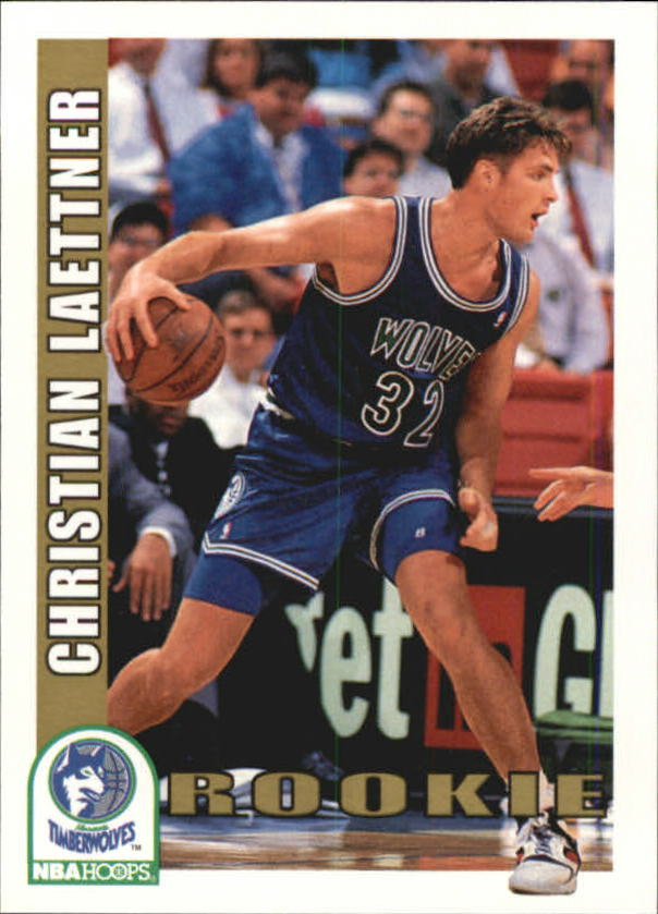 1992-93 Hoops #421 Christian Laettner