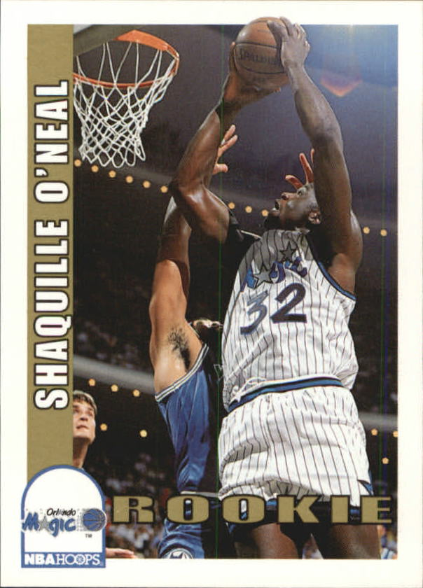 1992-93 Hoops #442 Shaquille O'Neal RC